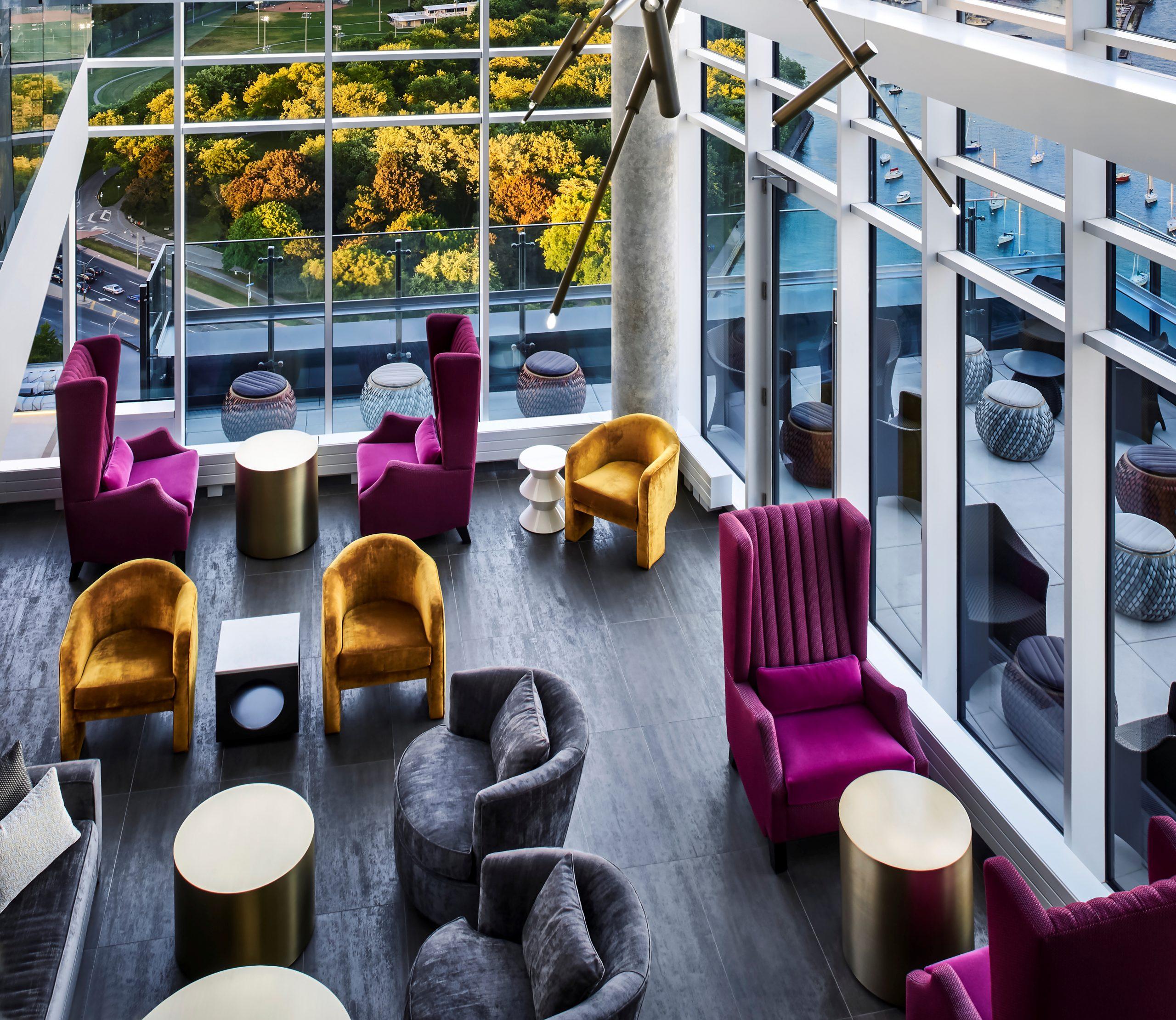 hotel x toronto lounge