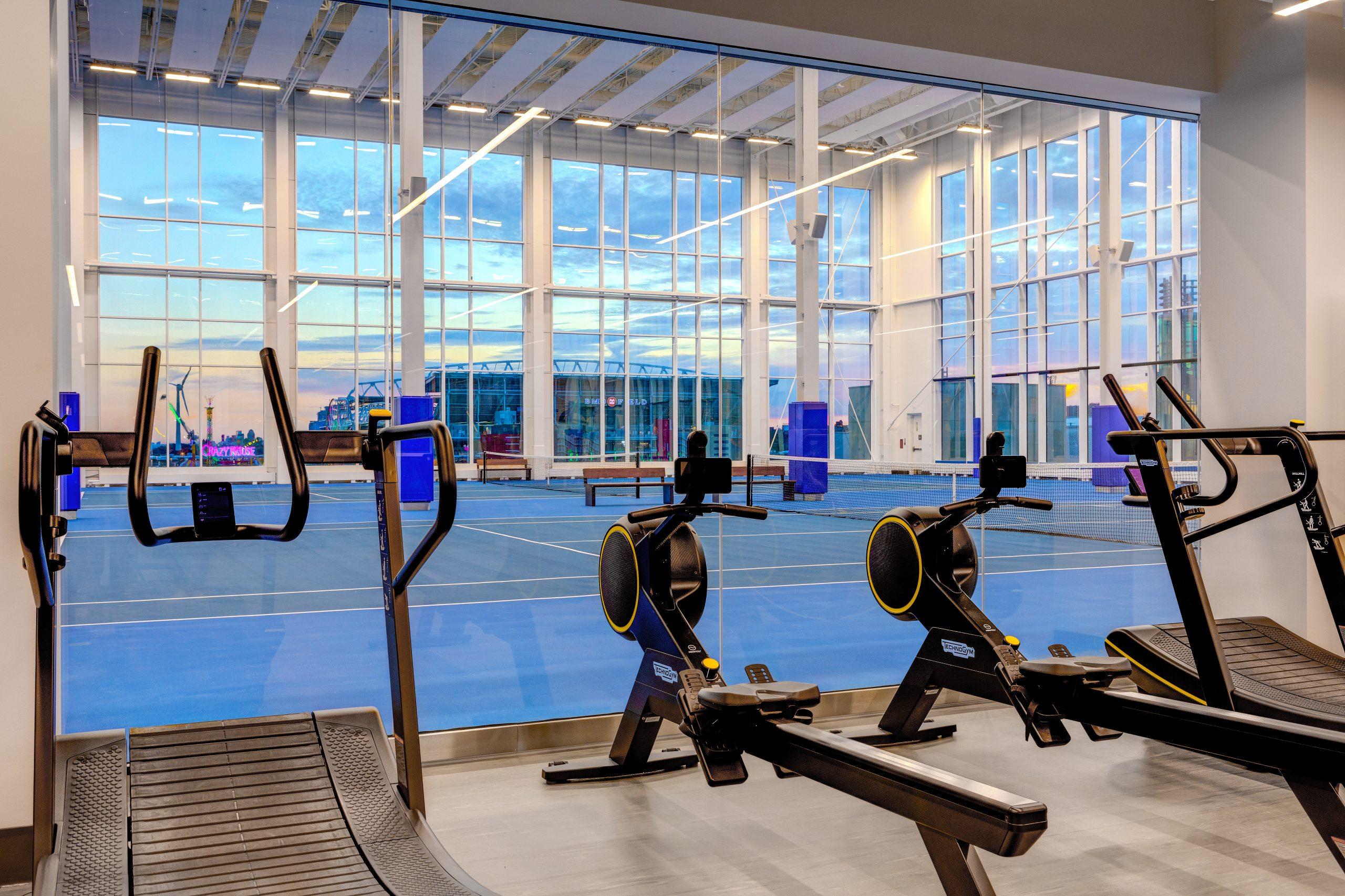 hotel x toronto fitness space