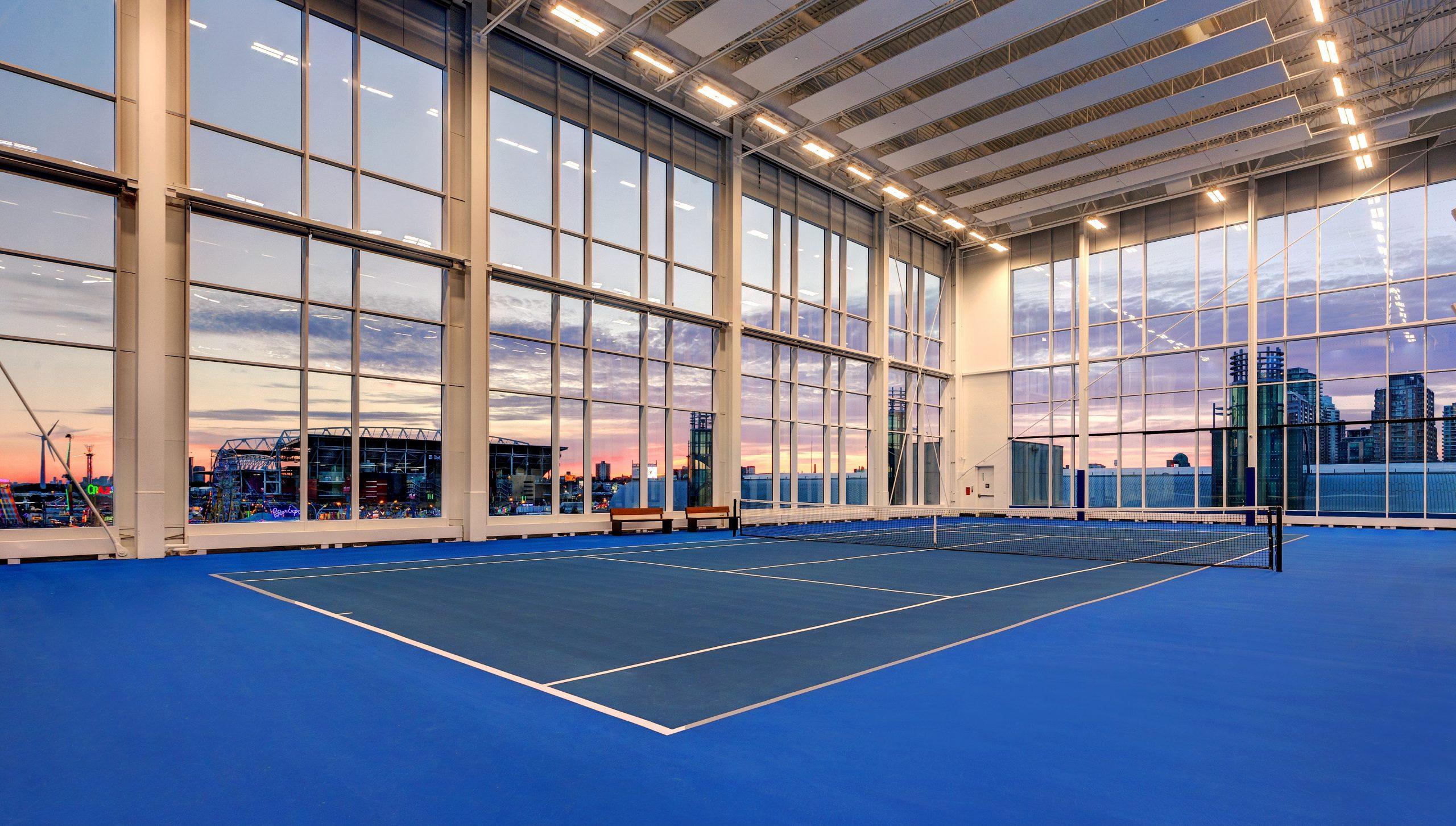 hotel x toronto tennis courts