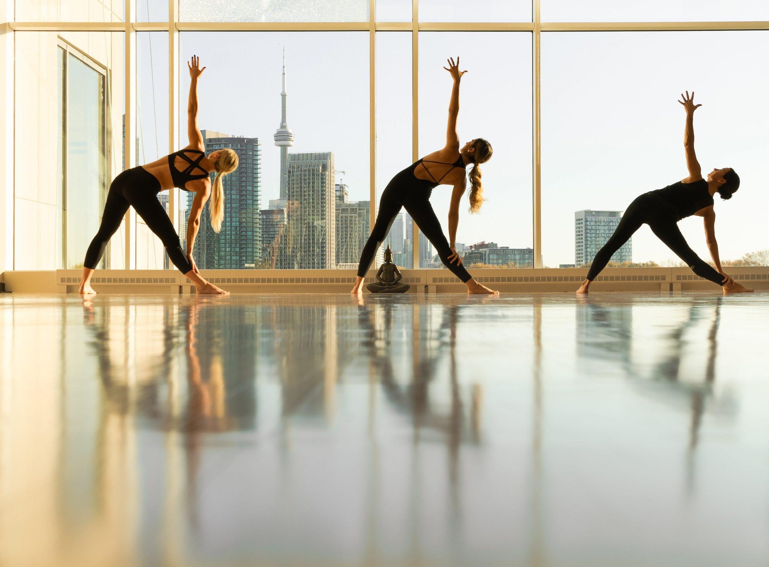 hotel x toronto fitness yoga