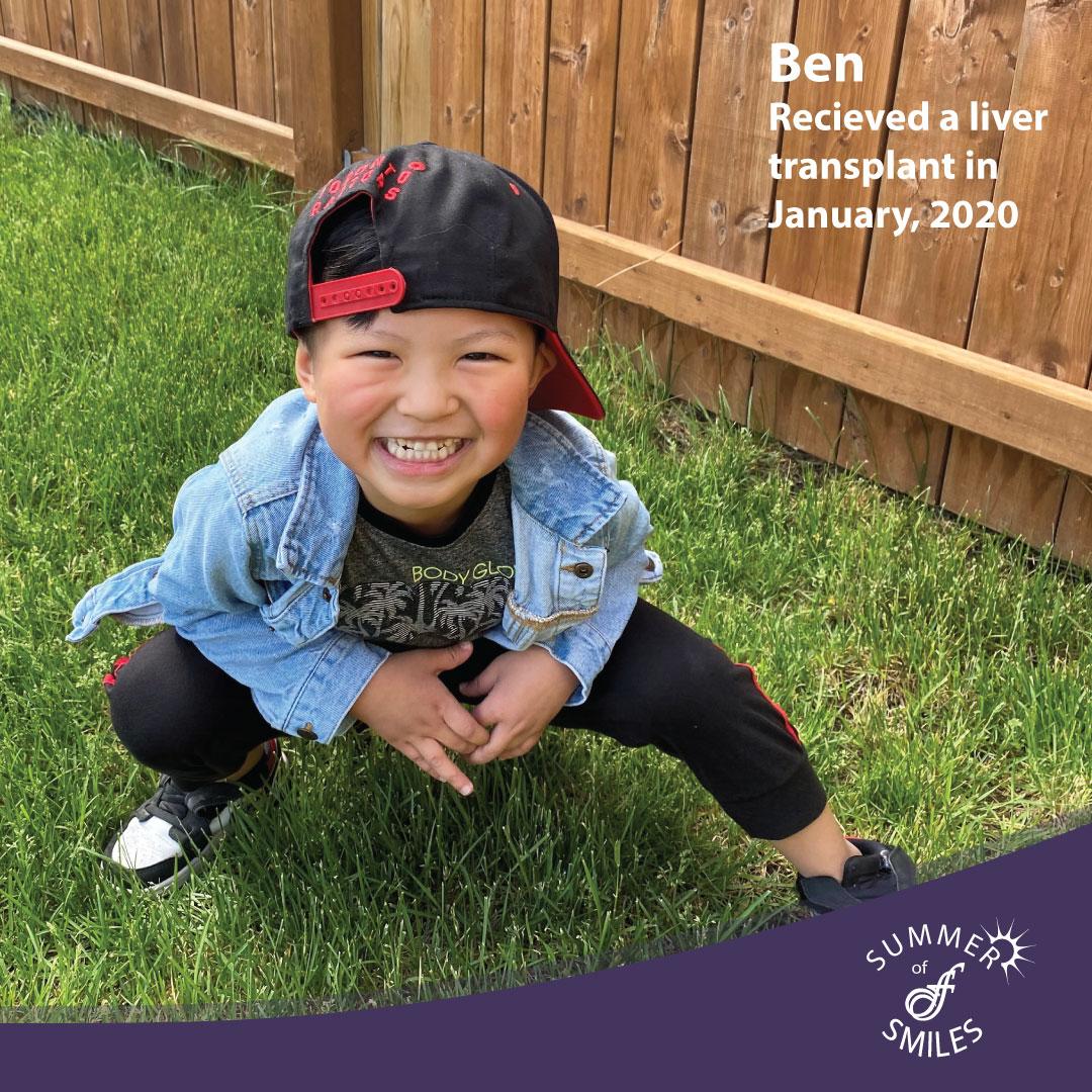 Ben Summer of Smiles